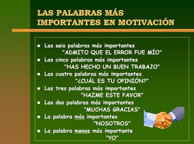 ¿Me motivan? ¡Me motivo!