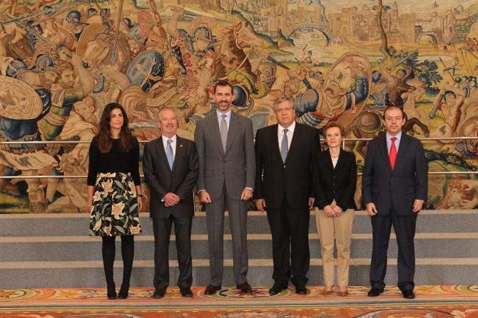 Antiguos Alumnos celebra su 20 Aniversario en el Palacio de la Zarzuela