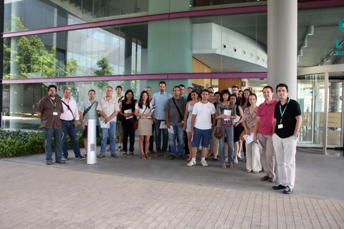 Visita al Parc Científic de la Universidad de Valencia