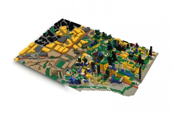 city-in-lego