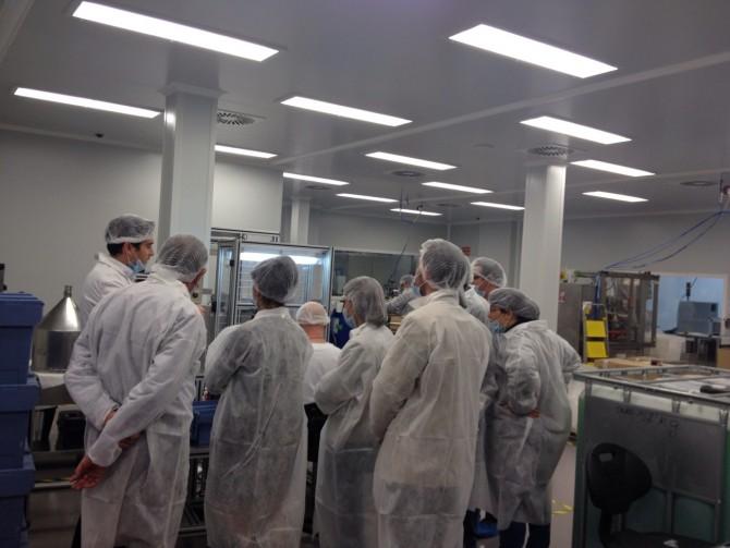 Visitamos la sede de Sesder Laboratoriosma