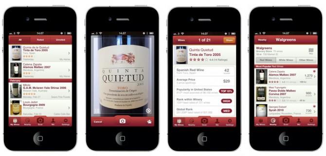 Resultado de imagen para aplicaciones vinos