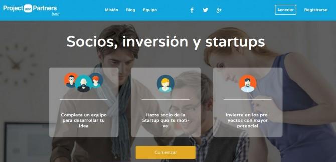 Nace la nueva plataforma ProjectandPartners.com