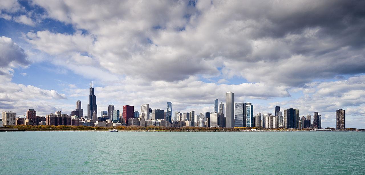 Skyline-de-Chicago-desde-el-Planetario