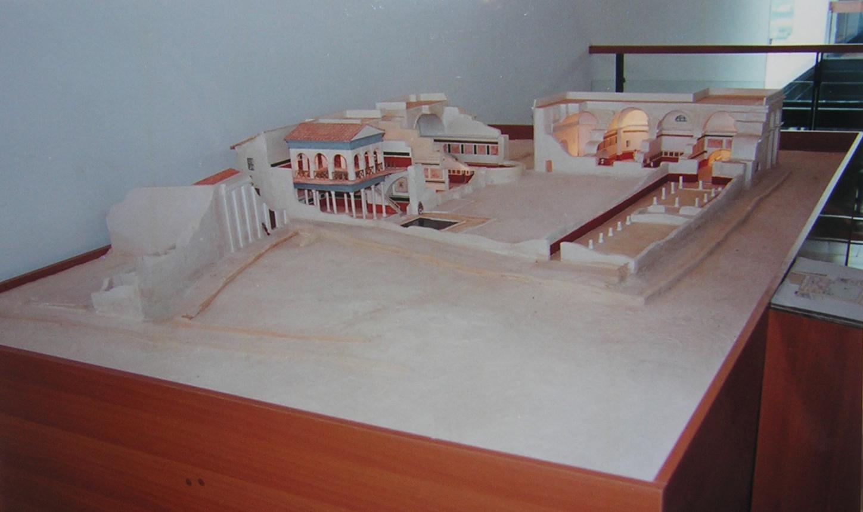 12.maqueta termas romanas