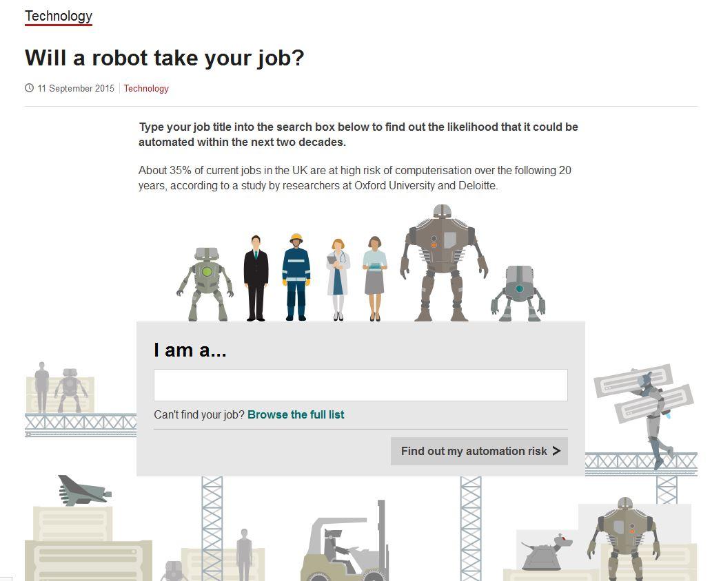 ¿Puedes ser sustituido por un robot?