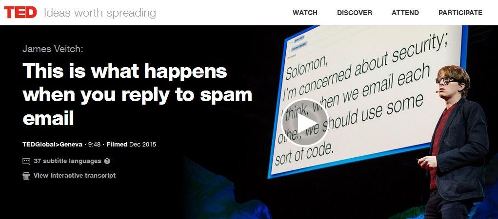 5 TED Talks curiosas y divertidas para este verano