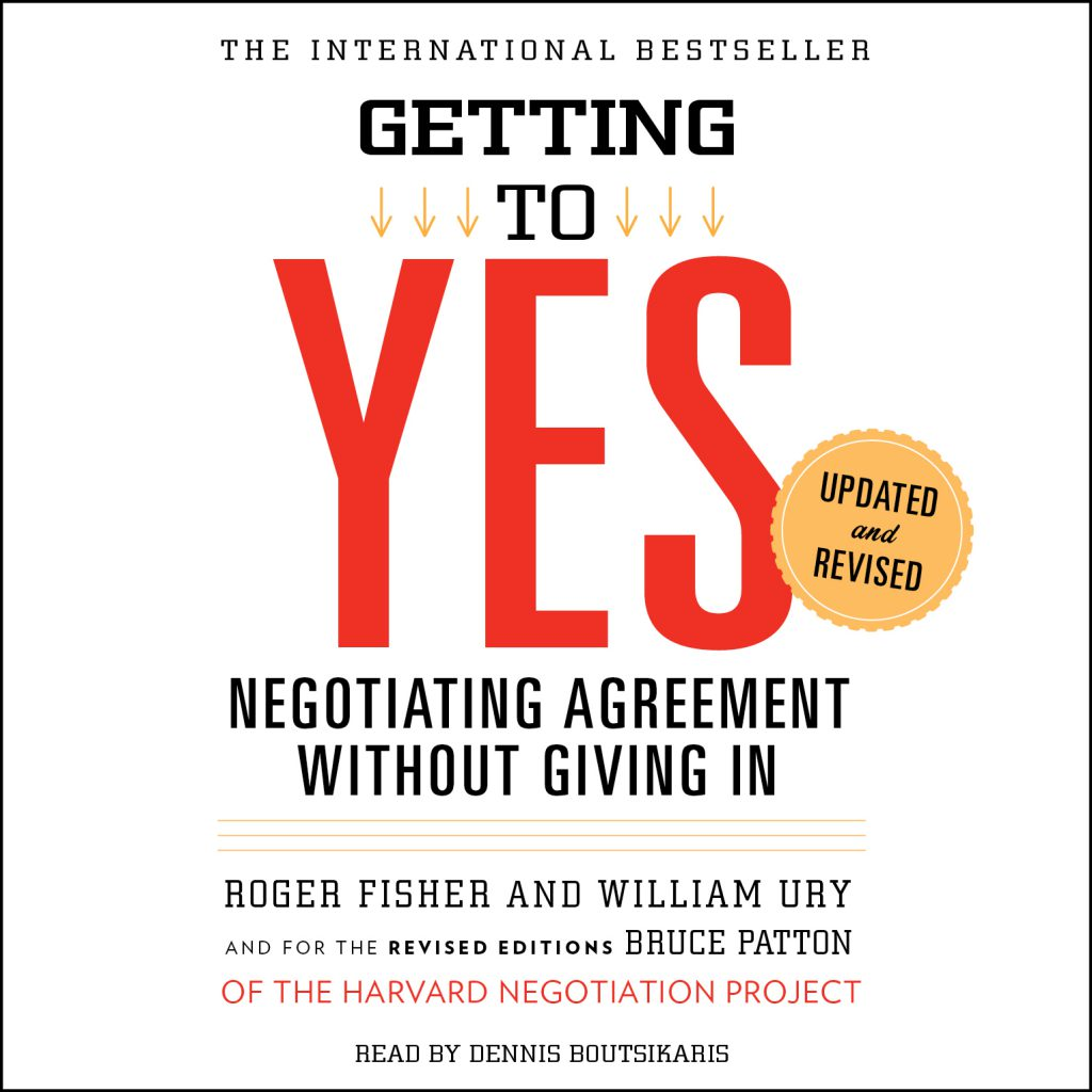 Professional Reading Club: Getting to YES Negotiating agreement without giving in