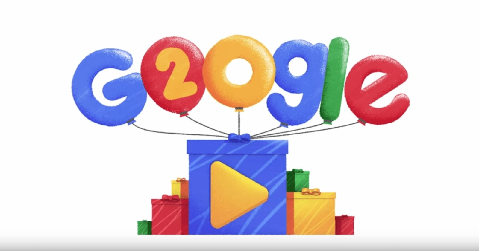 Google cumple 20 años y lo celebra con grandes novedades en su buscador