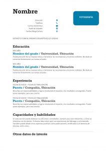 Plantilla-CV-sin-experiencia