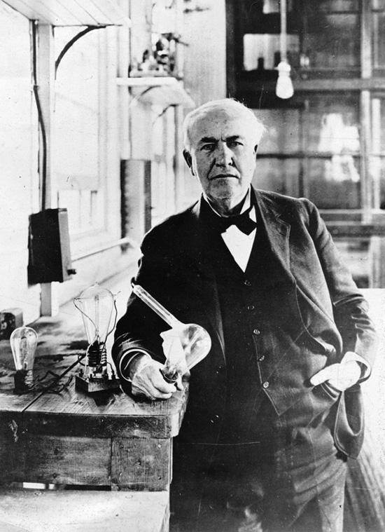 Thomas Edison, prototipo de perfil adaptador e innovador