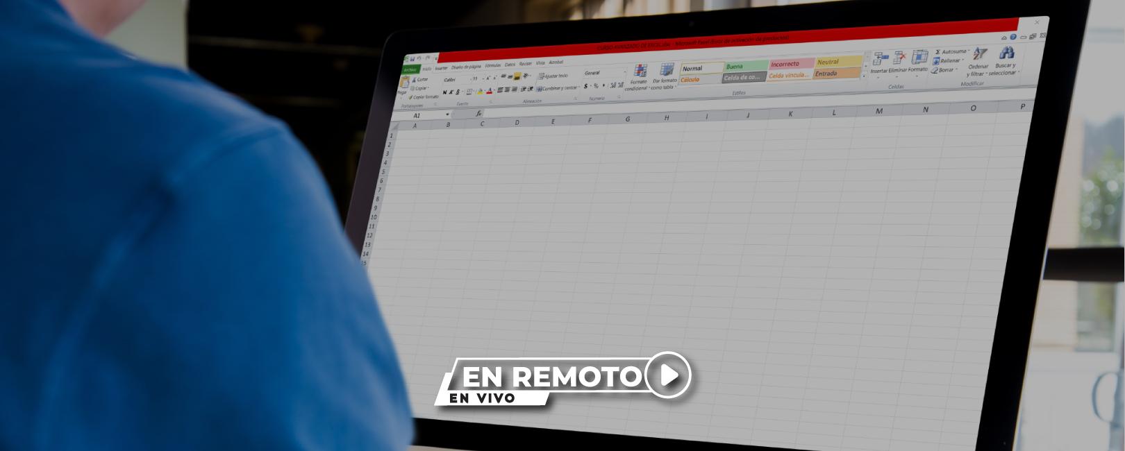 Programa Excel Avanzado – PEA I y II: sácale más partido a esta herramienta. En remoto