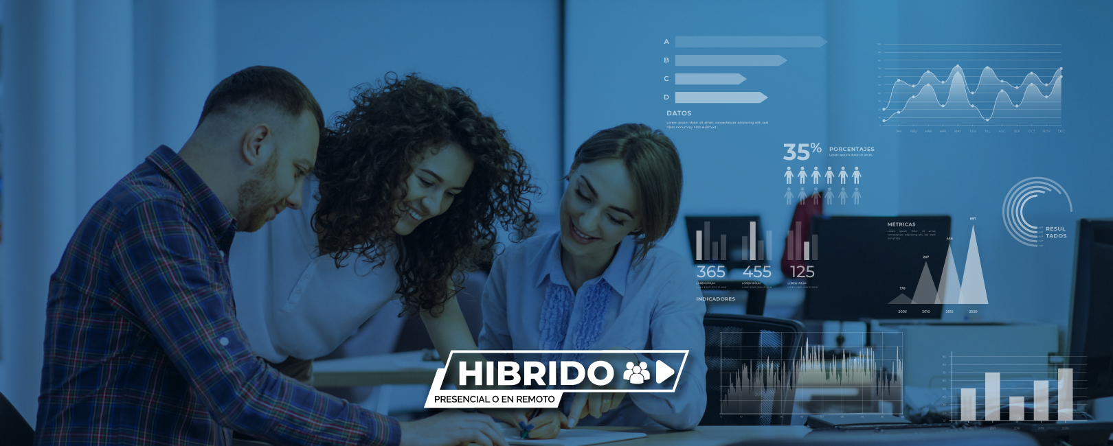 Programa Cómo construir indicadores útiles para la mejora interna y externa de nuestra organización. Formato híbrido