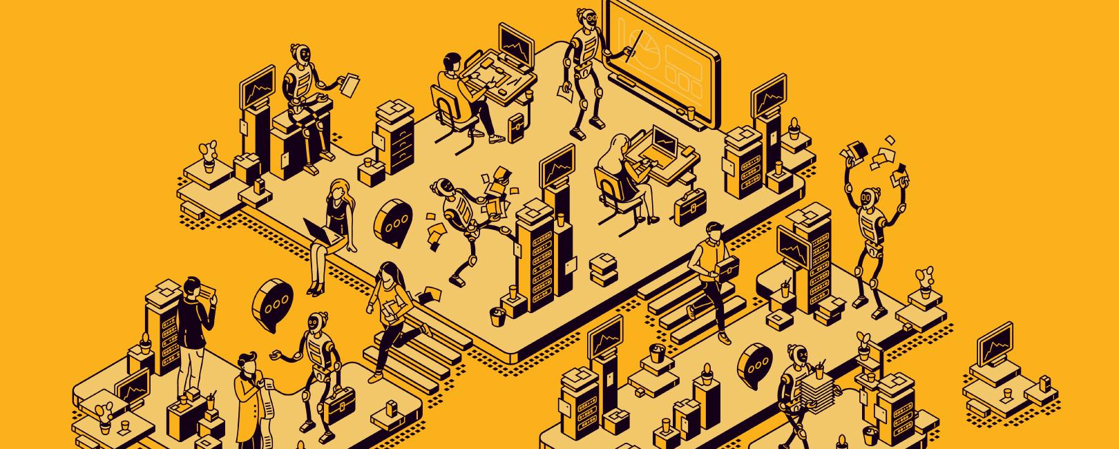 La simbiosis hombre-máquina en las organizaciones